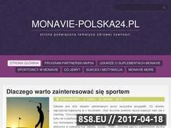 Miniaturka domeny monavie-polska24.pl