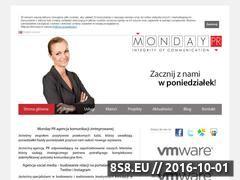 Miniaturka domeny mondaypr.pl
