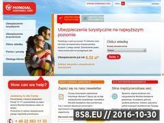 Miniaturka domeny www.mondial-assistance.pl