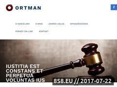 Miniaturka monikaortman.com.pl (Kancelaria Prawna Gdynia)