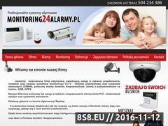 Miniaturka domeny www.monitoring24alarmy.pl