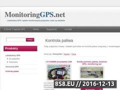 Miniaturka domeny www.monitoringgps.net
