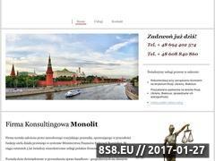 Miniaturka domeny monolitconsulting.pl