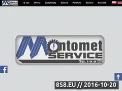 Miniaturka domeny montometservice.pl
