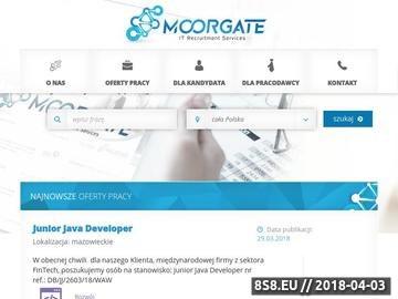 Zrzut strony Moorgate