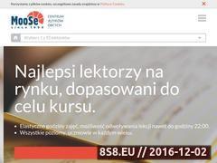 Miniaturka moose.pl (Nauka języków obcych)