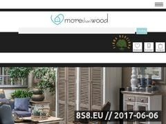 Miniaturka domeny morethanwood.pl
