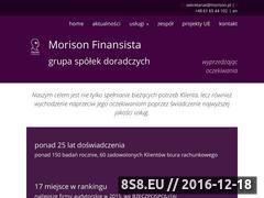 Miniaturka domeny www.morison.pl