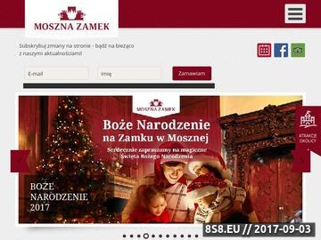 Zrzut strony Zamek w Mosznej
