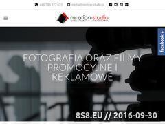 Miniaturka Tworzenie filmów i <strong>fotografii</strong> reklamowych (motion-studio.pl)
