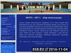 Miniaturka domeny www.moto-art2.pl
