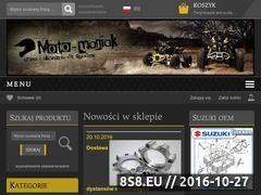Miniaturka domeny www.moto-maniak.eu