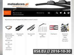 Miniaturka domeny www.motoakces.pl