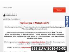 Miniaturka domeny www.motochemia.pl