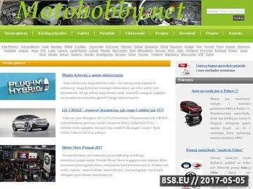 Zrzut strony Samochody stare i nowe - nasze moto hobby - portal automaniaków i zwyczajnych kierowców.
