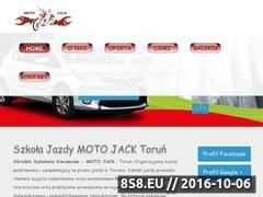 Miniaturka domeny motojack.pl