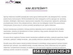 Miniaturka www.motorek.com.pl (Ramki do tablic rejestracyjnych)