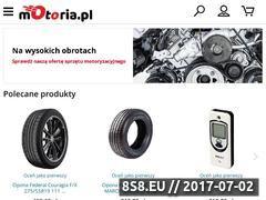 Miniaturka motoria.pl (Sklep z oponami)