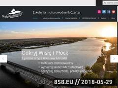 Miniaturka motorowodny.fun (Rejsy po Wiśle, kursy motorowodne i czarter łodzi)