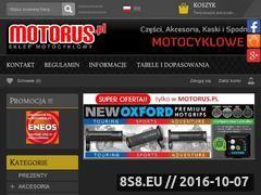 Miniaturka domeny www.motorus.pl