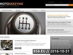 Miniaturka motoskrzynie.pl (Blog o skrzyniach biegów)