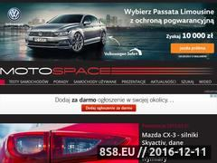 Miniaturka domeny motospace.pl