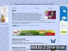 Miniaturka domeny www.motyle-motyle.strefa.pl