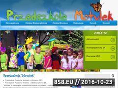 Miniaturka domeny motylekprzedszkole.pl