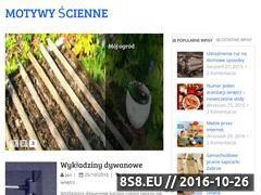 Miniaturka domeny motywy-scienne.pl