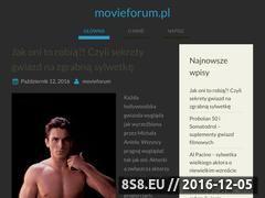 Miniaturka domeny www.movieforum.pl