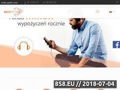 Miniaturka movitech.pl (Audioprzewodnik Kraków)