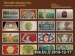 Miniaturka domeny www.mozaika-artystyczna.eu