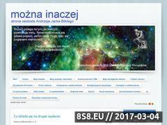 Miniaturka domeny www.moznainaczej.com.pl