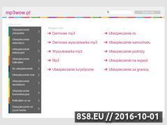 Miniaturka domeny www.mp3wow.pl
