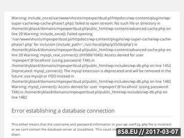 Zrzut strony Rzeczoznawca Budowlany - mpExpertBud