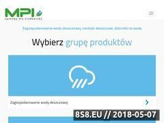 Miniaturka mpi.com.pl (Pojemniki na wodę deszczową)