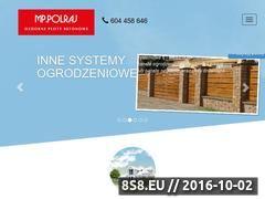 Miniaturka Ogrodzenia betonowe (www.mppolraj.pl)