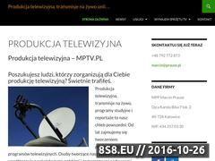 Miniaturka mptv.pl (Usługi transmisji telewizyjnych)
