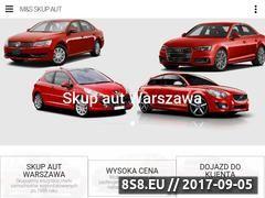 Miniaturka ms-skup-aut-warszawa.pl (Skup aut za gotówkę na terenie Warszawy)