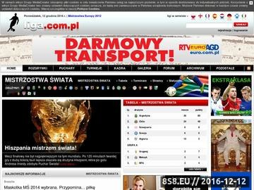 Zrzut strony Mistrzostwa Świata w Piłce Nożnej 2010