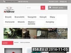 Miniaturka domeny www.msilver.pl