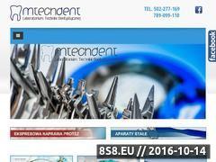 Miniaturka domeny www.mtechdent.pl