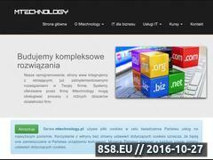 Miniaturka domeny mtechnology.pl