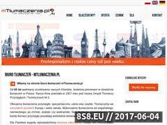 Miniaturka domeny www.mtlumaczenia.pl