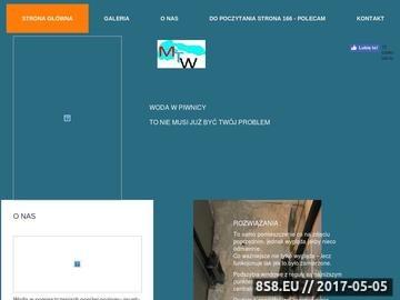 Zrzut strony MTW Orle - osuszanie budynków