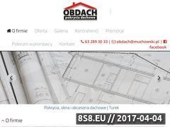Miniaturka domeny www.muchowski.pl