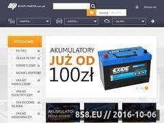 Miniaturka Części do aut osobowych i dostawczych - sklep (multi-parts.com.pl)