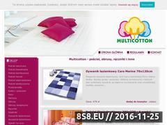 Miniaturka domeny www.multicotton.net