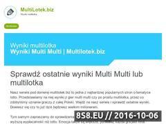 Miniaturka domeny www.multilotek.biz