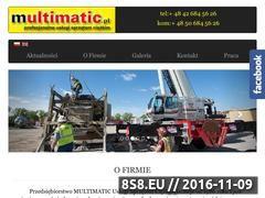 Miniaturka domeny www.multimatic.pl